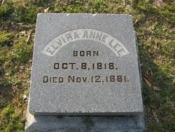 Elvira Anne <i>Church</i> Lee