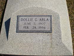 Dollie G. <i>Brown</i> Abla