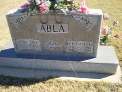 Rosa Faye <i>Roles</i> Abla