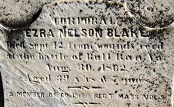 Corp Ezra Nelson Blake