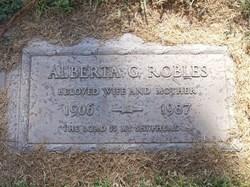 Alberta <i>Gonzales</i> Robles