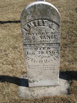 Emily Ann <i>Baker</i> Vance