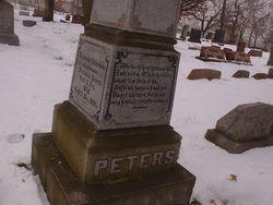 Frederika Wilhelmina <i>Nieman</i> Peters