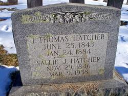 Sarah Jane Sallie <i>Pancoast</i> Hatcher