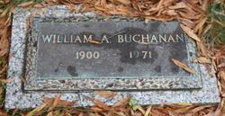 William A Buchanan