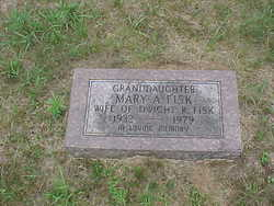 Mary A. <i>Coon</i> Fisk