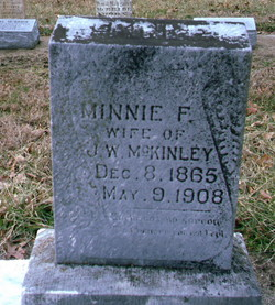 Minnie Florence <i>Plumber</i> McKinley