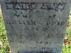 Mary Ann Boyd