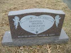 Diantha L <i>Shaffer</i> Kingston