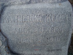 Katherine Ewald <i>Schneider</i> Kempf