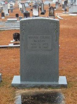 Minnie <i>Stubbs</i> McLean