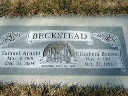 Elizabeth Vernice Beth <i>Benson</i> Beckstead
