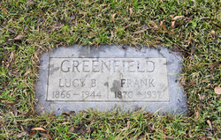 Lucy Belle <i>Vinson</i> Greenfield