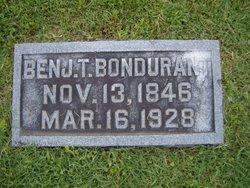 Sgt Benjamin Thomas Bondurant