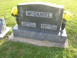 Margaret Jane <i>Symmonds</i> McDaniel