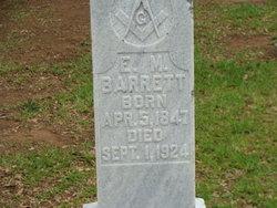 Elisha Miller E.M. Barrett