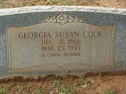 Georgia Susan <i>Lacey</i> Cook