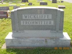 Laura <i>Wickliffe</i> Frohwitter