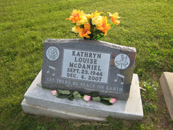 Kathryn Louise Kathy McDaniel