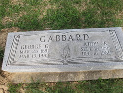 Addie R Gabbard