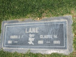 Gladys Marie <i>Wiggins</i> Lane