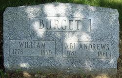William Burget, Sr