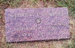Georgia Etta <i>Shafer</i> Sampley