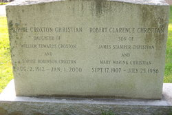 Sophie <i>Croxton</i> Christian
