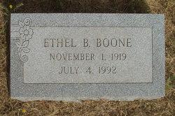 Ethel B. Boone