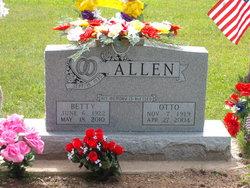 Betty <i>Whitaker</i> Allen
