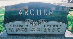 Gaylord Malcolm Archer