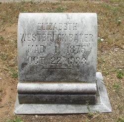Elizabeth Della <i>Westbrook</i> Baker