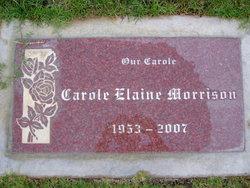 Carole Elaine Morrison