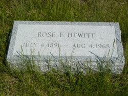 Rose E. Hewitt
