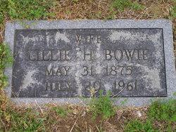 Lillian Mae Lillie <i>Henderson</i> Bowie