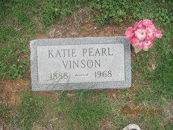 Katie Pemelia Pearl <i>Brown</i> Vinson