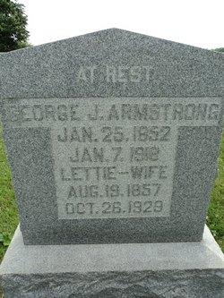 Lutetia Lettie <i>McClure</i> Armstrong