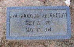 Violet Eva <i>Goodson</i> Abernethy