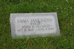 Emma Jane <i>Nunn</i> Van Nest