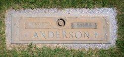 Marie E. <i>Lorenz</i> Anderson