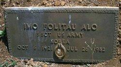 Sgt Imo Folitau Alo