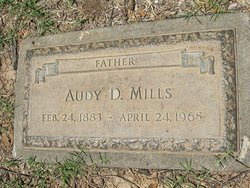 Audie Daniel Mills