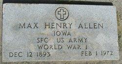 Max Henry Allen
