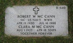 Robert Ward McCann