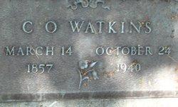 Capt Charles O. Watkins