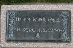 Helen Brown <i>MCGREGOR</i> Cole