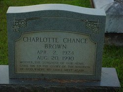 Charlotte <i>Chance</i> Brown