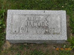 Alice Agatha <i>Allison (Robbins) (St. John)</i> Jacobs