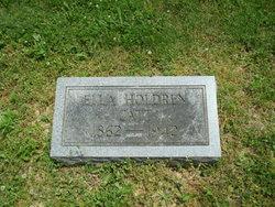 Ella <i>Holdren</i> Catt