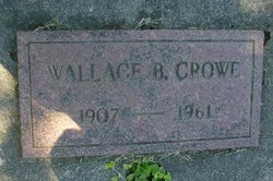 Wallace Bruce Crowe